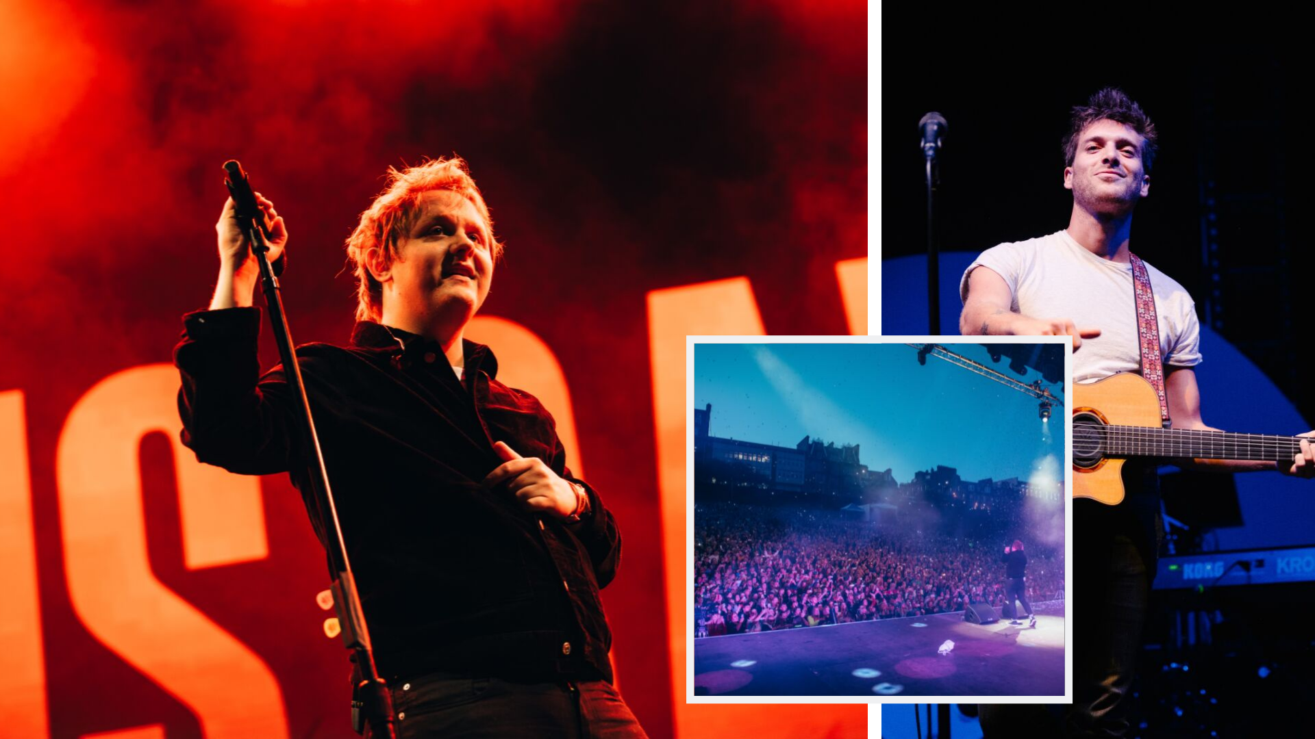 Lewis Capaldi 'pees himself' on stage at Edinburgh Summer Sessions - and jokes about a Paolo Nutini collab