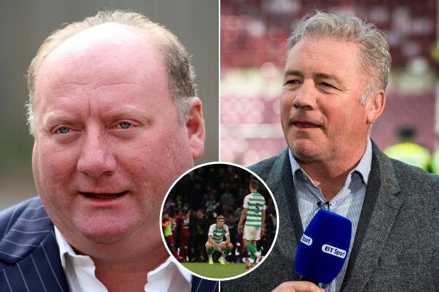 Celtic-daft Alan Brazil takes light-hearted pop at Rangers icon Ally McCoist after Hoops' CFR Cluj loss