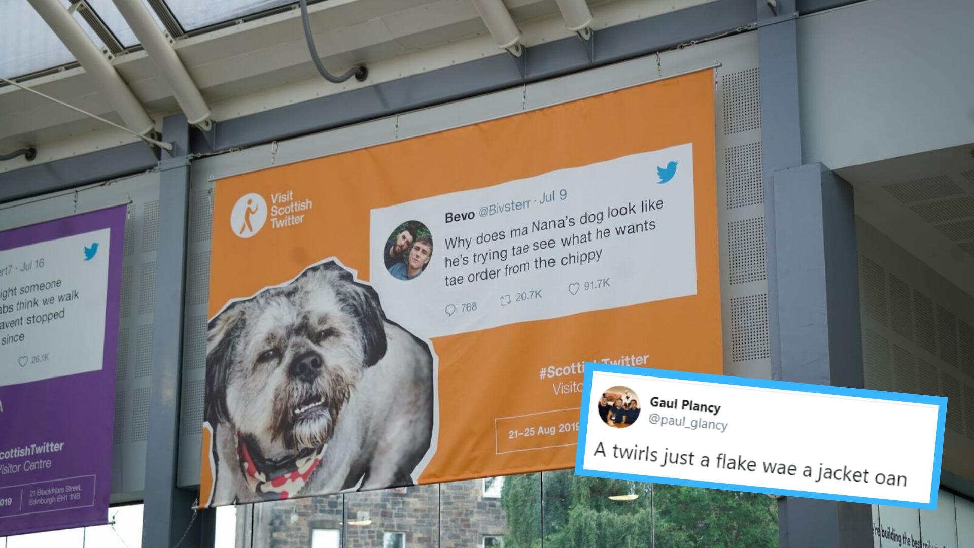 Scottish Twitter Visitor Centre: Glasgow's funniest tweets make it to shortlist