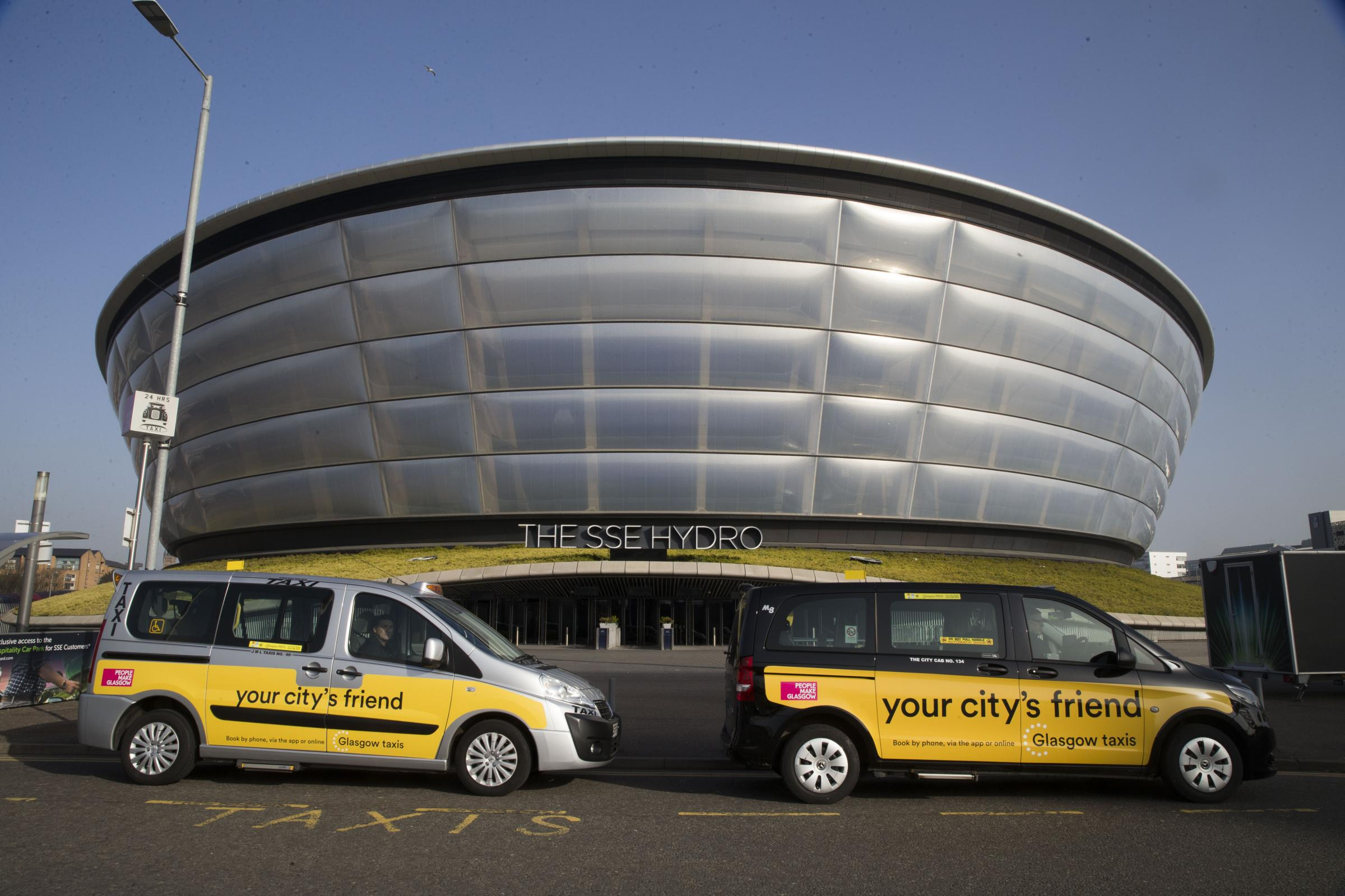 Most popular Glasgow city taxi routes revealed