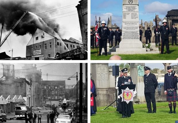 Kilbirnie Street fire: Tributes paid to the Glasgow firefighters
