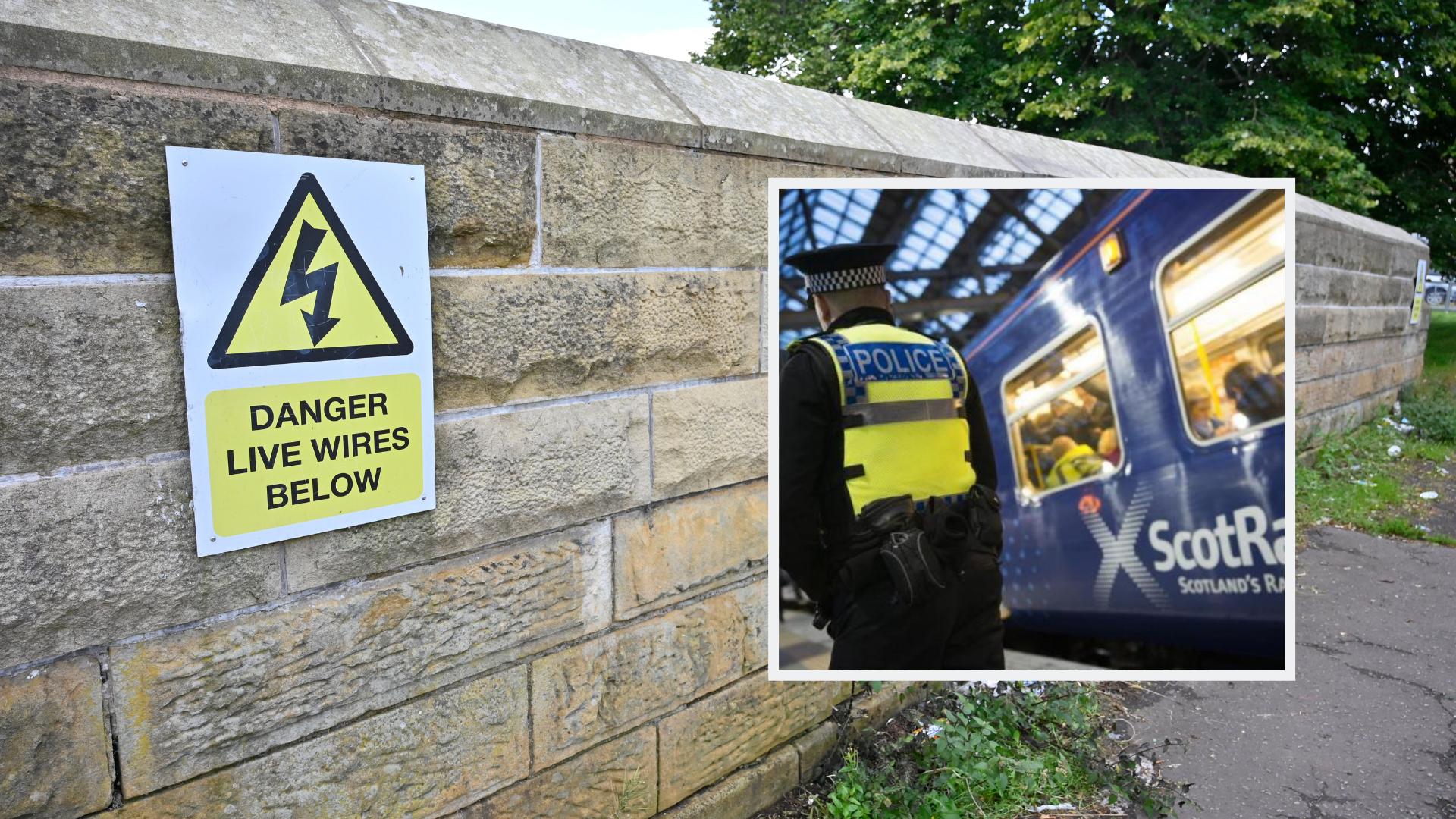 Glasgow schoolboy, 12, dies after suffering electric shock on railway at Ashgill Road