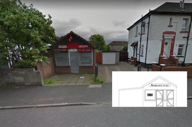 Plans unveiled to turn newsagent into takeaway in Springburn