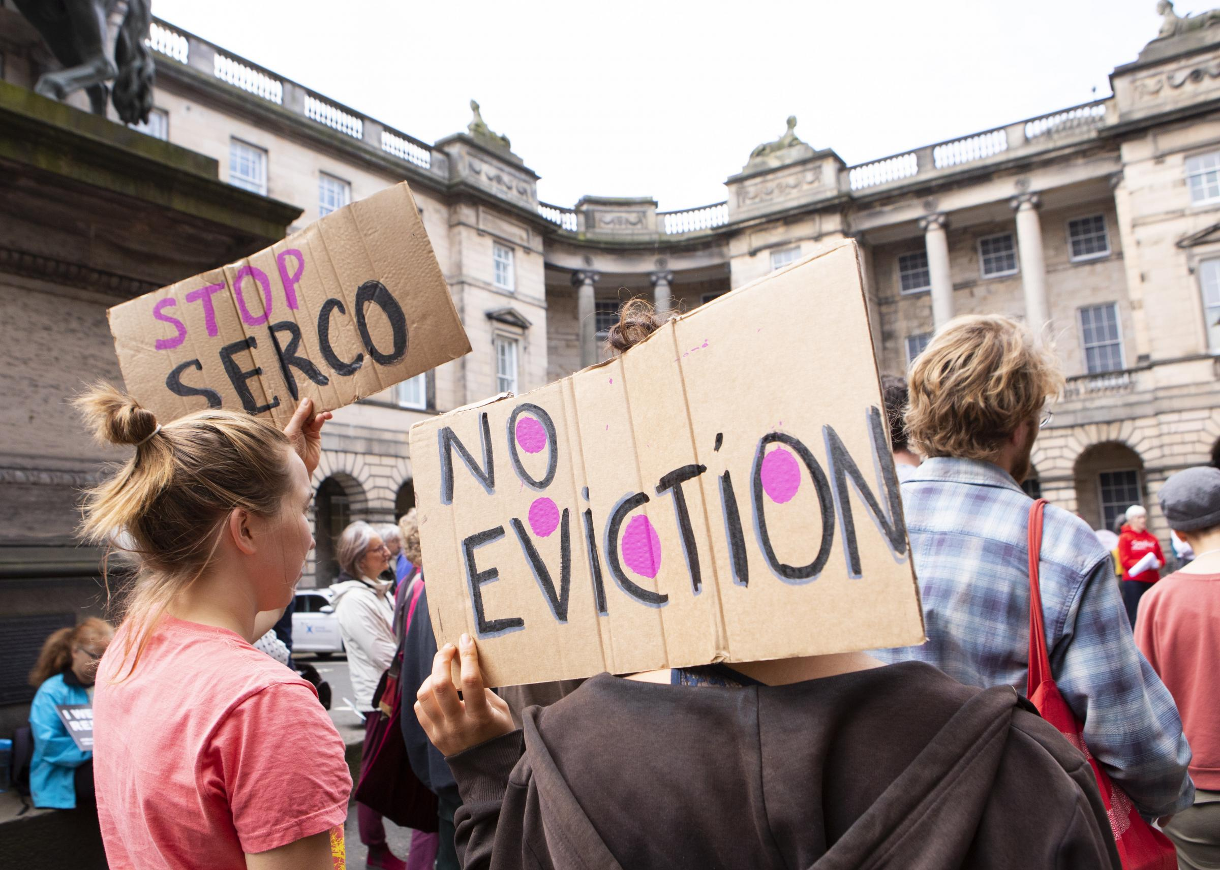 At least 45 asylum seekers facing Hallowe'en eviction from Glasgow homes
