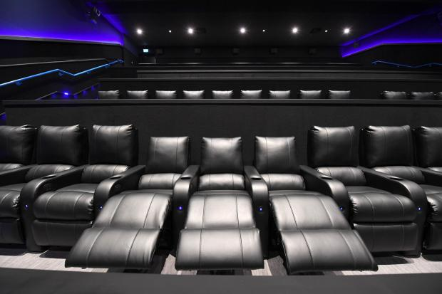Evening Times: Luxury seats for Cineworld