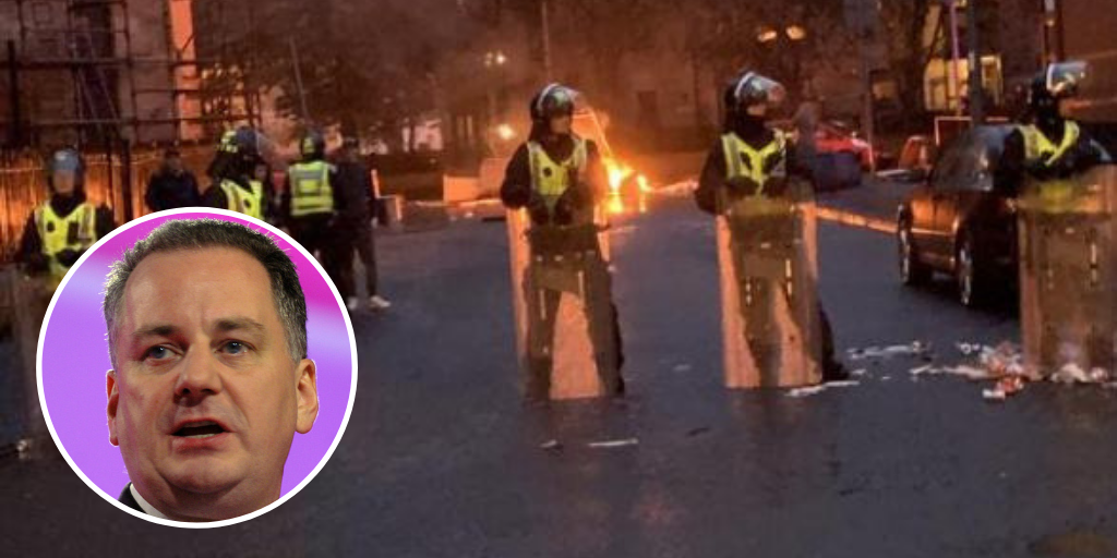 Former First Minister appeals to help Nicola Sturgeon rid Scotland of sectarian 'cancer' after Govan violence