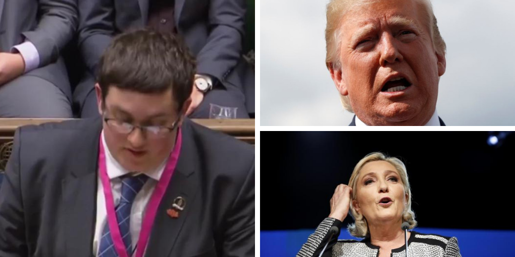 Glasgow Brexit Party candidate Danny Raja slammed after praising Donald Trump and far-right Marine Le Pen