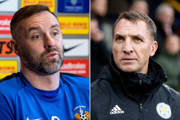Ex-Celtic boss Brendan Rodgers sent Kris Boyd furious text after striker praised Neil Lennon's Old Firm tactics