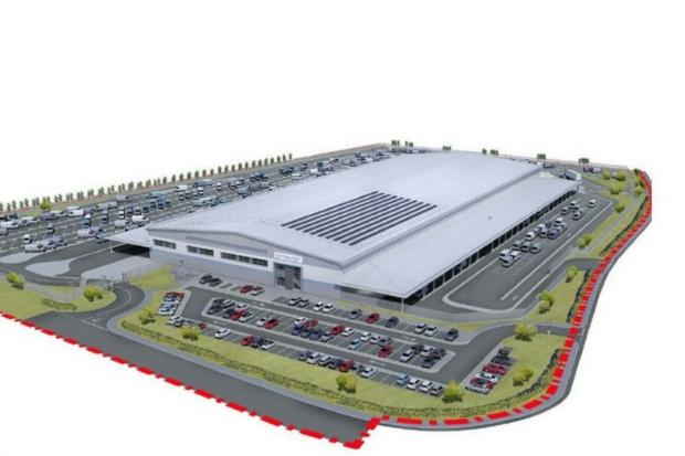 Proposal for new distribution facility at Glasgow Business Park unveiled
