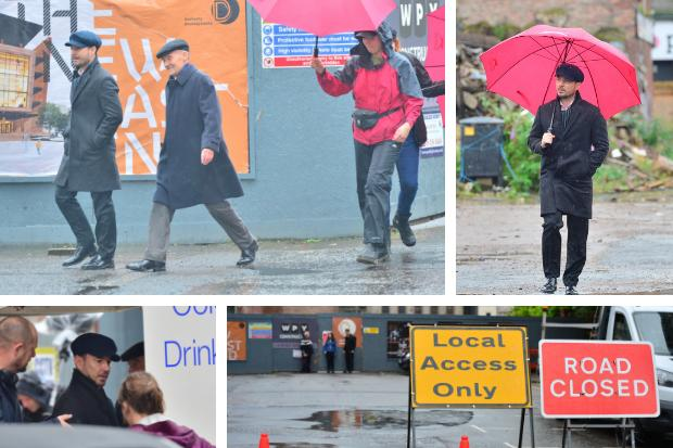 Stars on Glasgow streets as filming for new drama The Nest