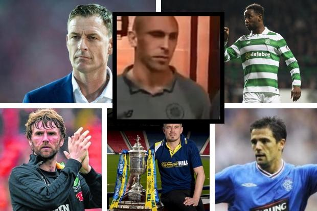 Ex-Celtic and Rangers stars support Scott Brown after abuse