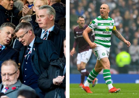 Rangers managing director Stewart Robertso has apologised to Scott Brown