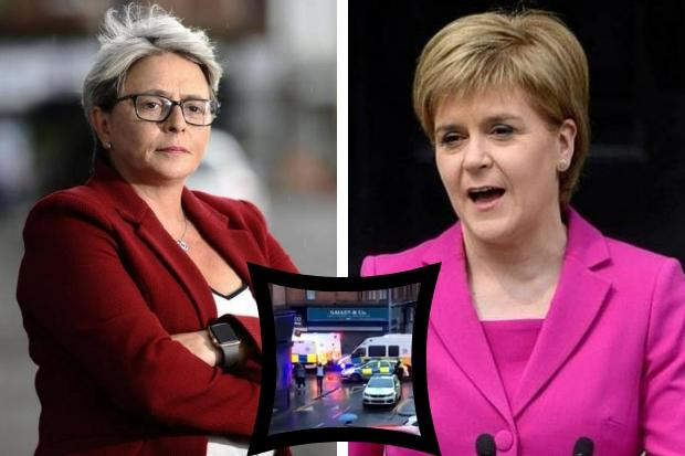 Nicola Sturgeon quizzed by Annie Wells over Govan riot during FMQs