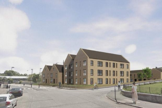 Glasgow Housing Association submit plans for homes in Thornliebank
