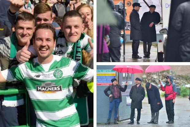 Martin Compston reveals he will wear Celtic top in new BBC drama The Nest