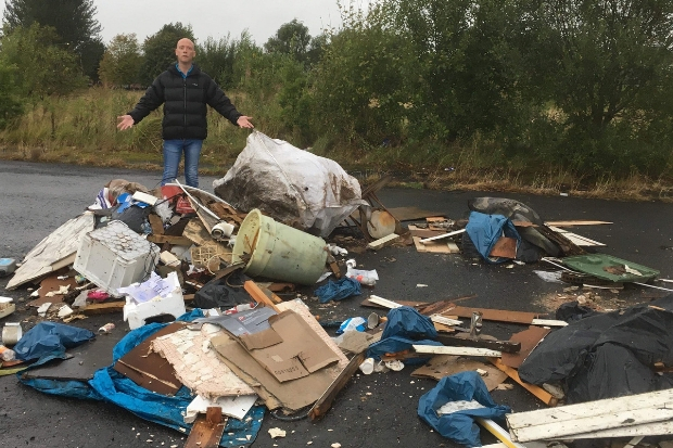 Community activists hit out over relentless fly-tipping