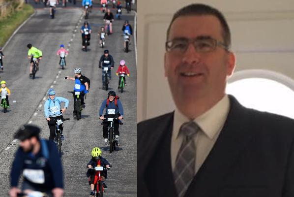 Colin Anderson passed away during Pedal for Scotland (Facebook/Norma Anderson)