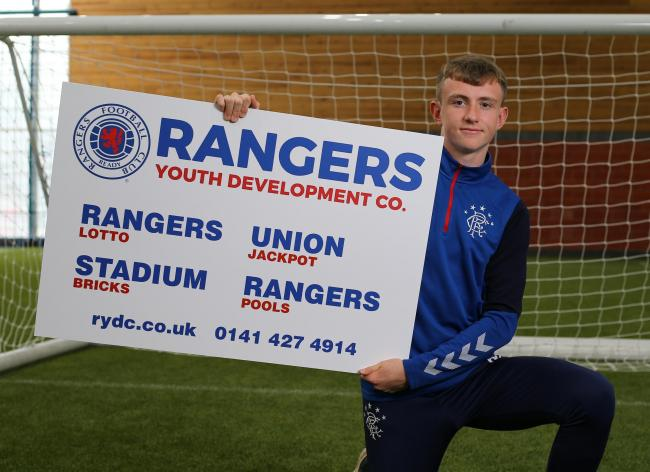 James Maxwell promotes the Rangers Youth Development Company