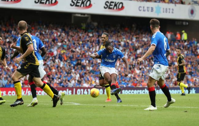 Joe Aribo moved to Rangers from Charlton Athletic this summer PHOTO: PA