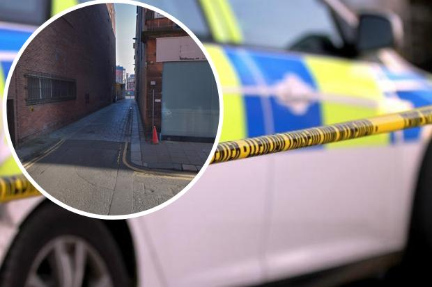Man, 36, arrested following reports of 'serious sexual assault' in city lane
