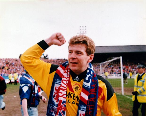 Evening Times: Andy Goram punched Spackman