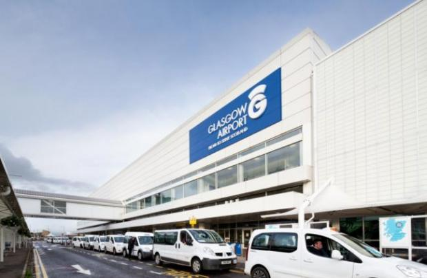 Emergency response at Glasgow Airport after flight emergency