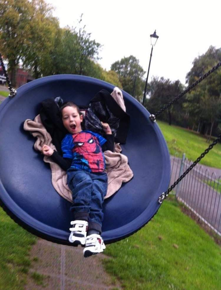 Young boy whose body is 'held together with steel' hailed for his bravery
