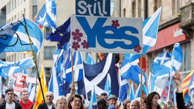 Poll finds surge of UK-wide support for second Scottish independence referendum