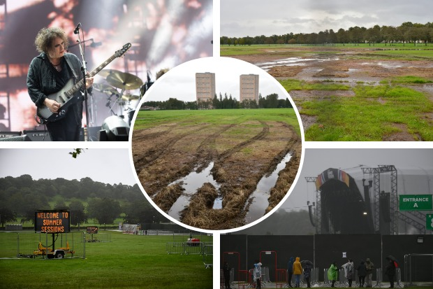 Questions asked about damage to Bellahouston Park following Summer Sessions