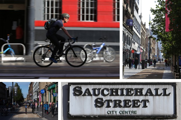 First look at final product as Glasgow's Sauchiehall Avenue project reaches completion