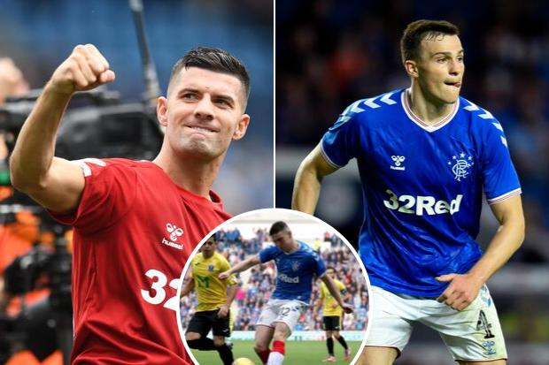 Rangers stars Jordan Jones and Edmundson hail teammate Jake Hastie for goalscoring form for Rotherham