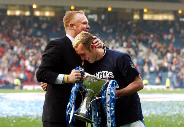 Evening Times: He won the treble at Ibrox in 2003