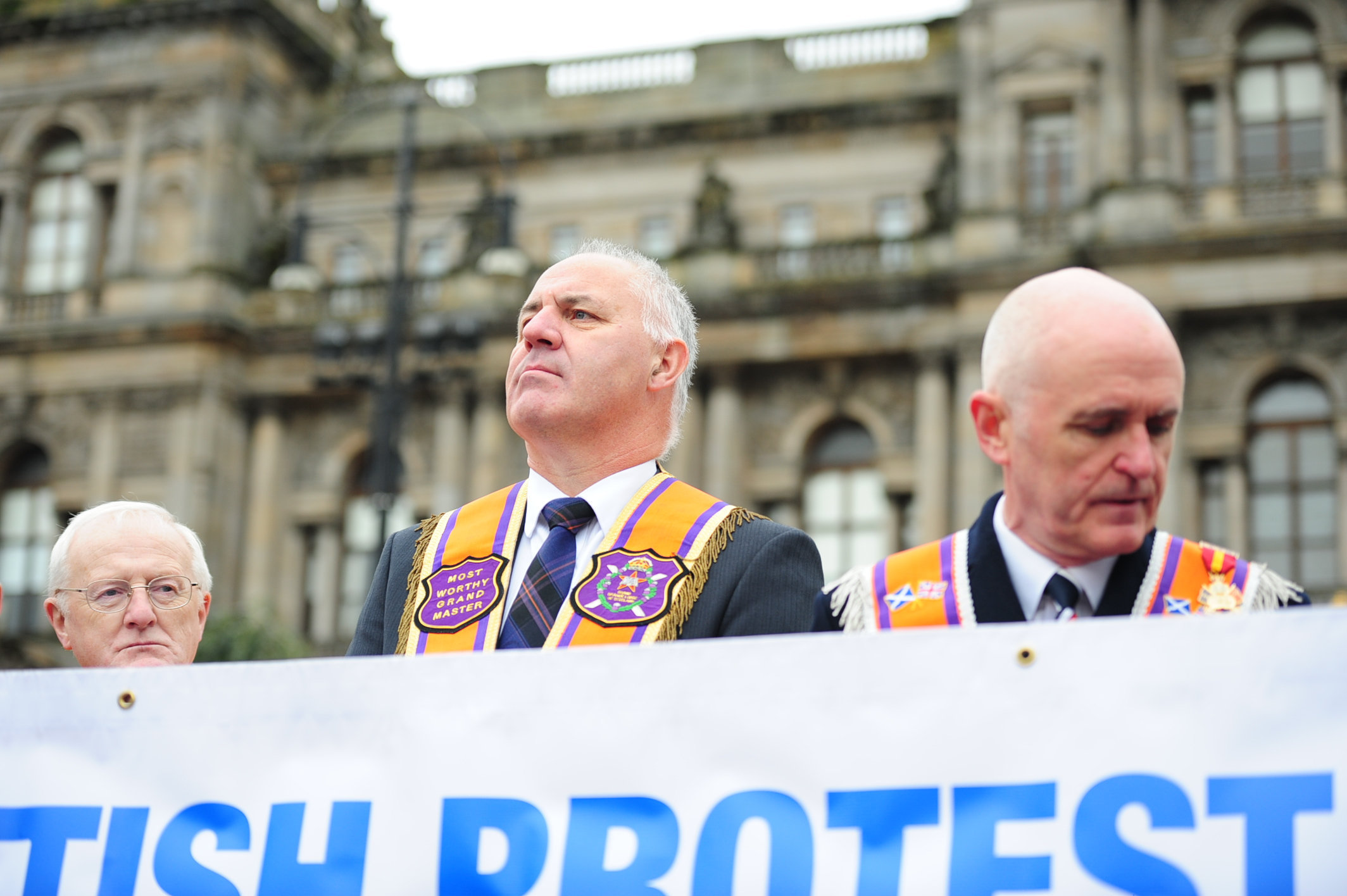 Orange lodge leader calls for 'respect' from marches ahead of weekend Glasgow parades