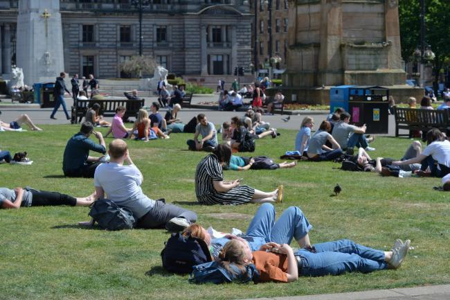 Glasgow is set for some much-needed sunshine this weekend
