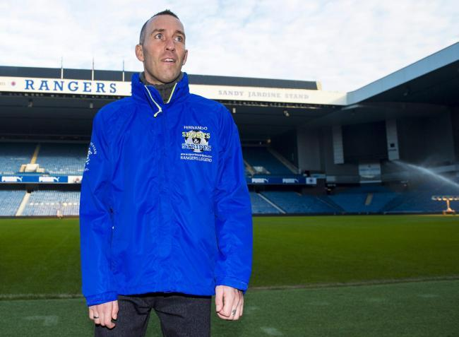 Former Rangers midfielder Fernando Ricksen died at the age of 43 PHOTO: PA