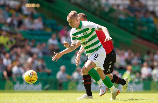 Leigh Griffiths to miss Celtic's Europa League opener against Rennes with thigh knock