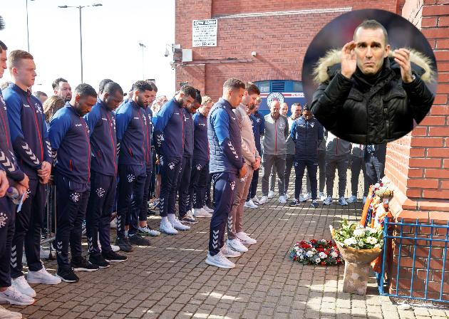 Rangers stars pay tribute to Fernando Ricksen at Ibrox
