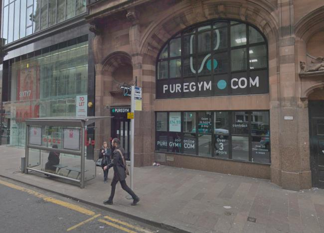 The attack took place near to Pure Gym on Hope Street