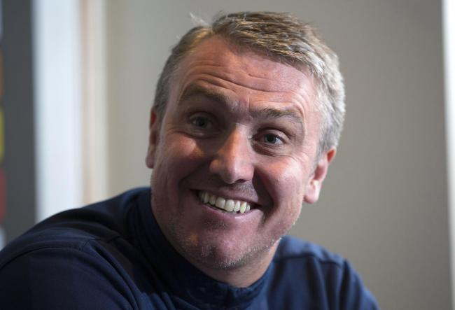 25/01/17RUGBY PARK - KILMARNOCKKilmarnock manager Lee Clark speaks to the press ahead of their match against Ross County