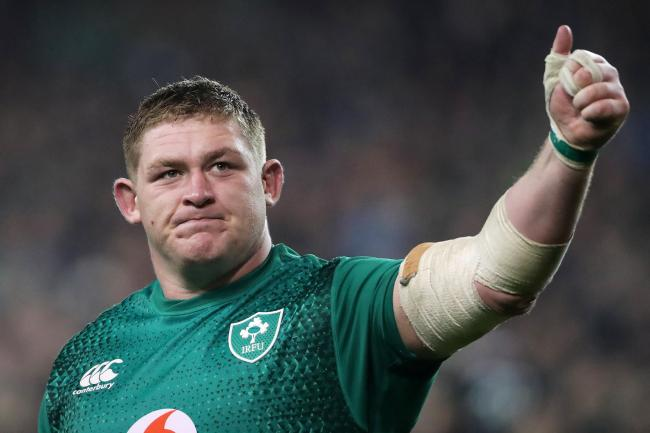 Tadhg Furlong, pictured, has thrown his weight behind Rory Best's captaincy