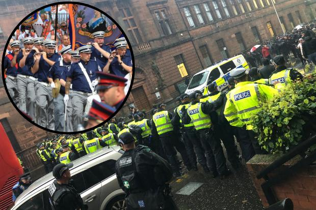 Council condemned by flute band after asking marchers to cancel Govan parade