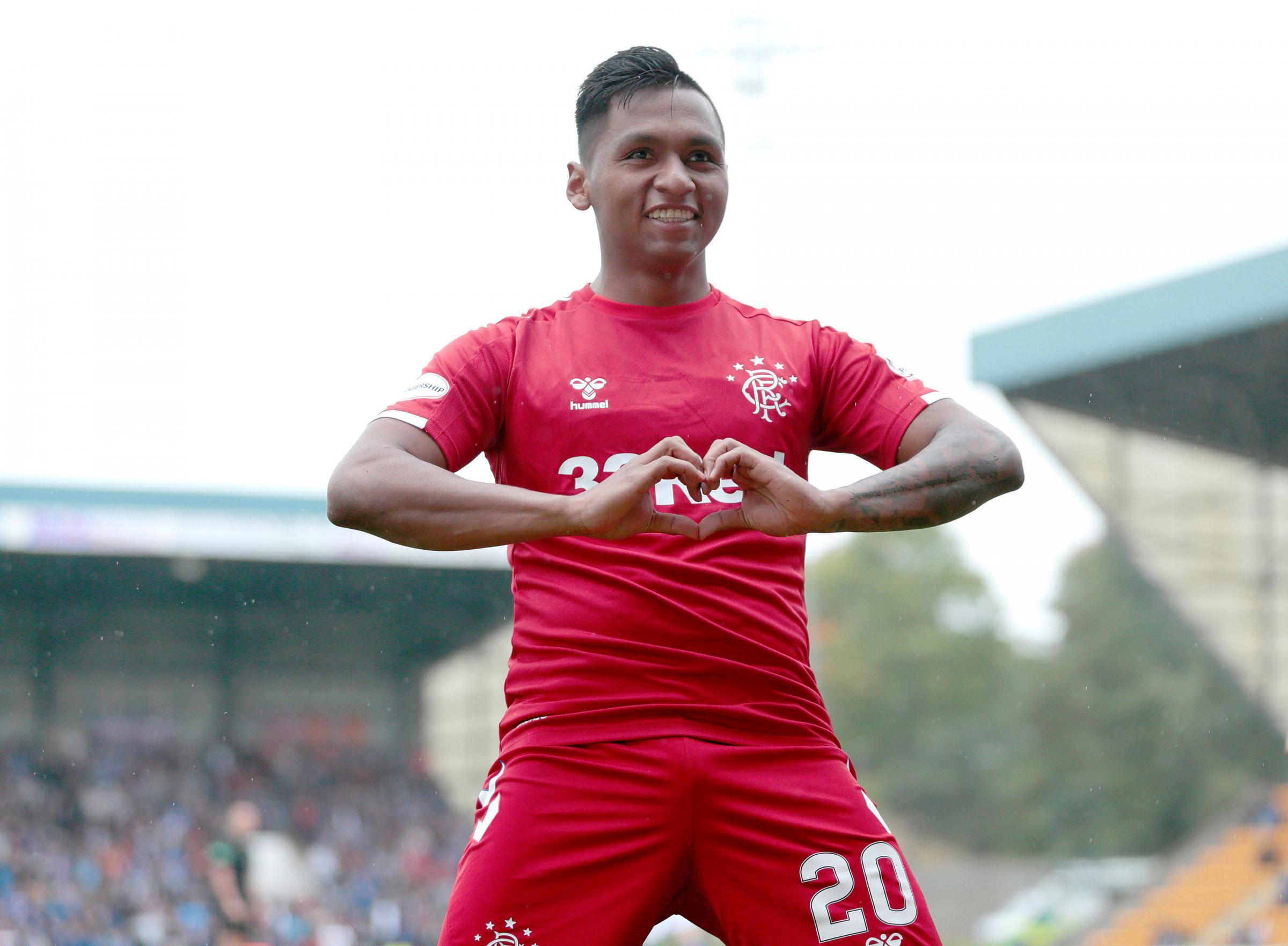 Crystal Palace prepare '£20million bid' for Rangers' Alfredo Morelos