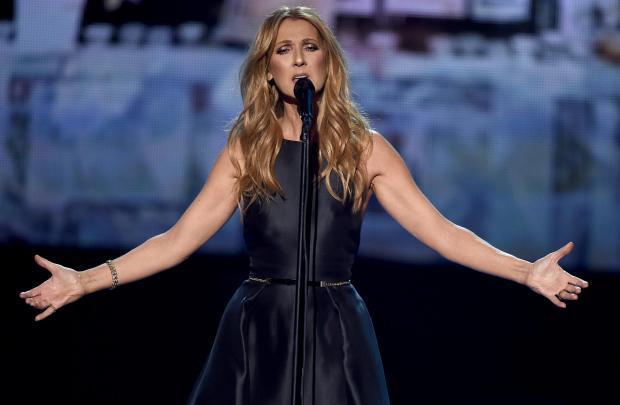 Hydro tease Celine Dion Glasgow show