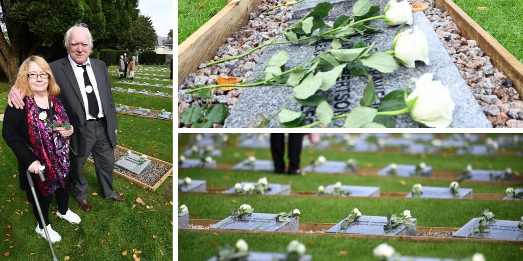 Children's headstones reinstated in Quarriers graveyard