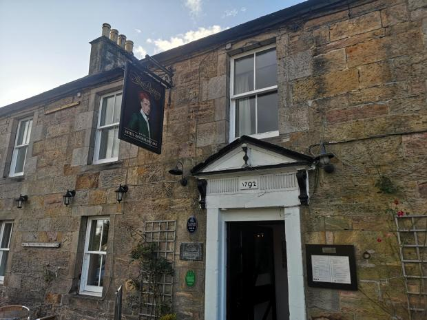 Evening Times: The Allan Ramsay Hotel, Penicuik
