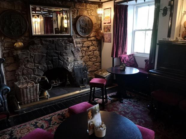 Evening Times: Country charm of The Allan Ramsay Hotel, Penicuik
