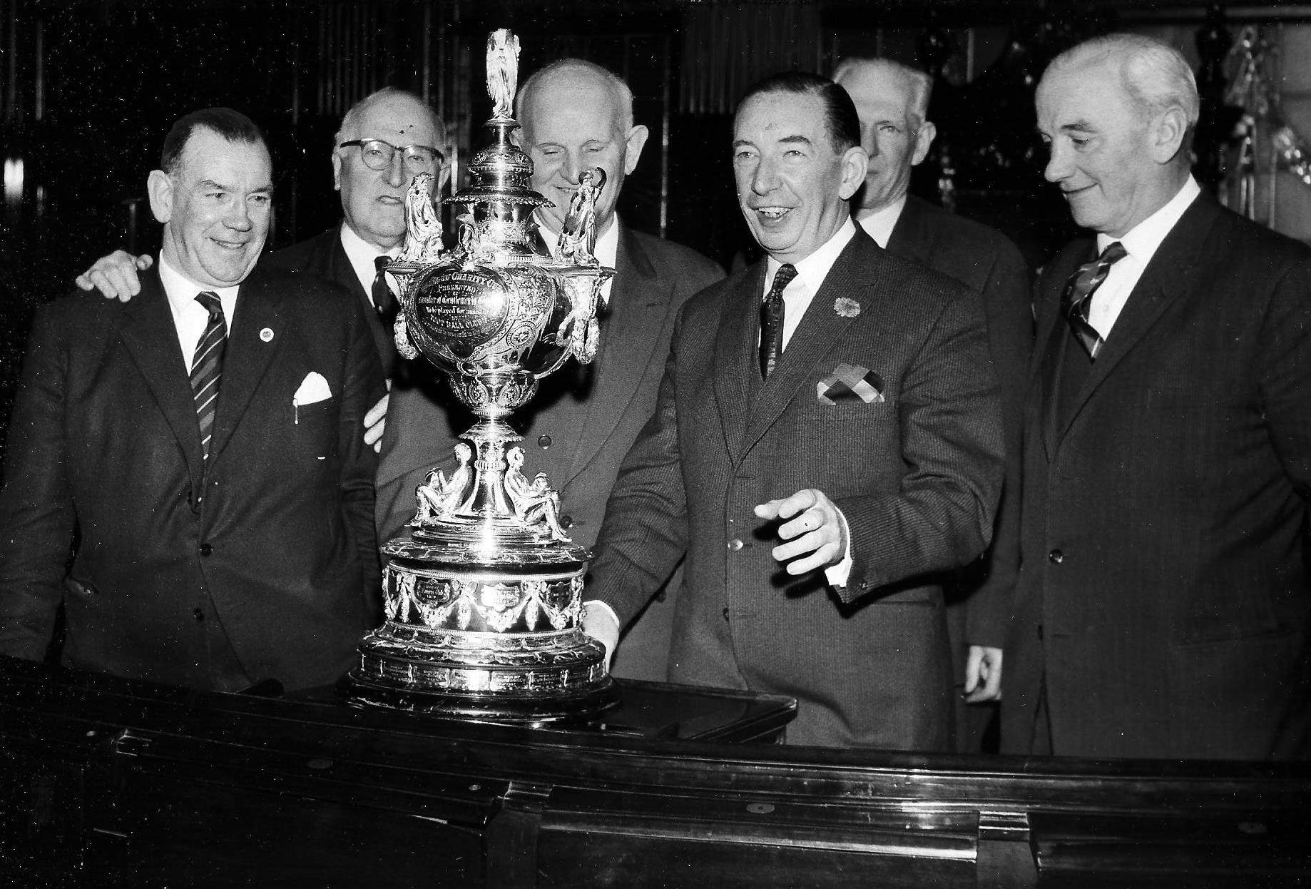 Times Past: The Glasgow Charity Cup on show in 1963