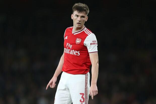 Kieran Tierney earns rave reviews for Arsenal Europa League debut vs Standard Liege