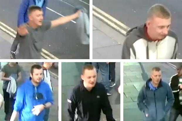 Police hunt for five men after serious assault in city centre leaves man in hospital