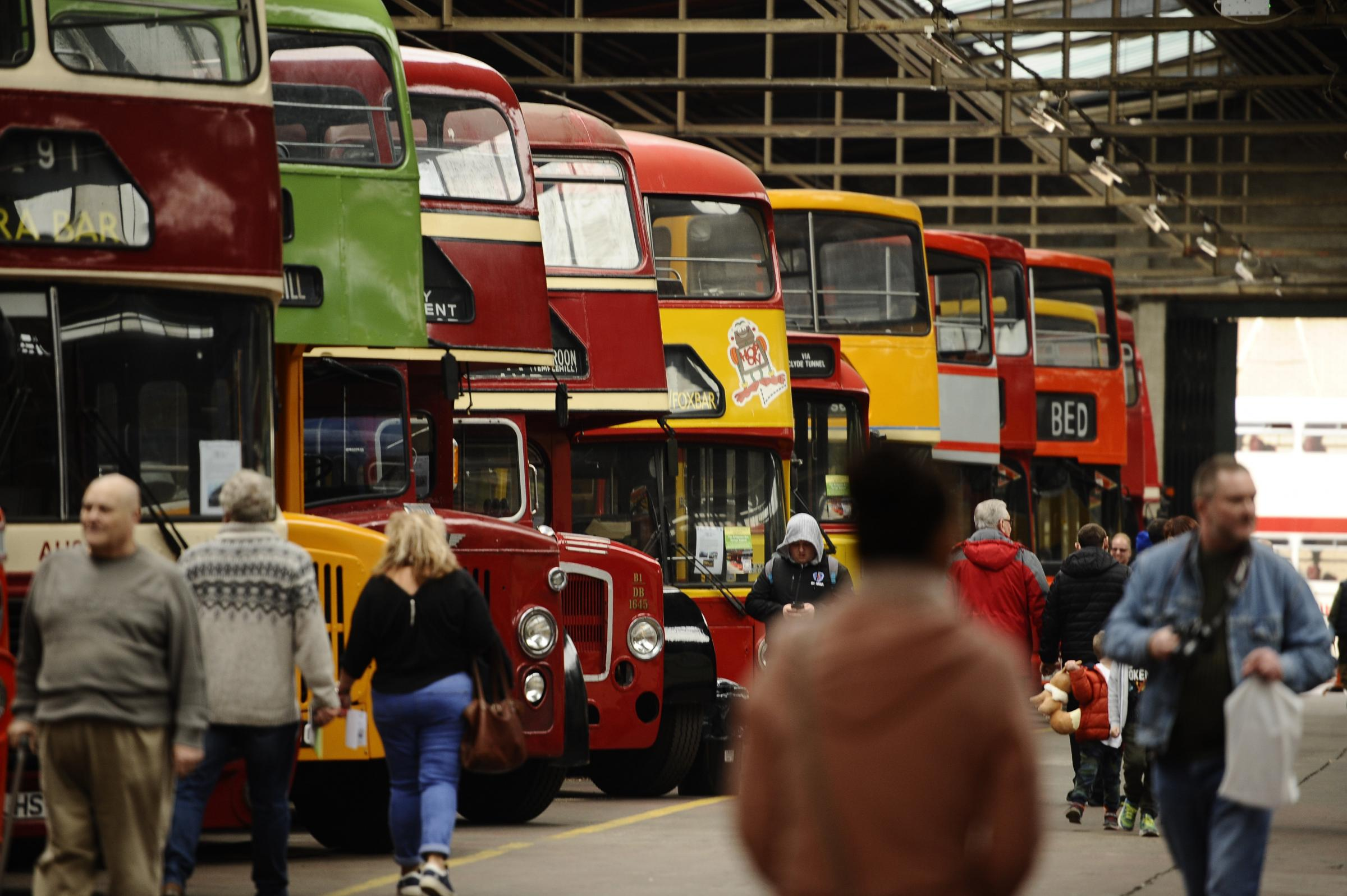 In pictures: Glasgow Vintage Vehicle Trust host open day